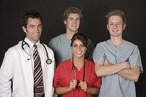 group of medical proffesionals
